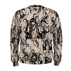 Dragon Pattern Background Men s Sweatshirt