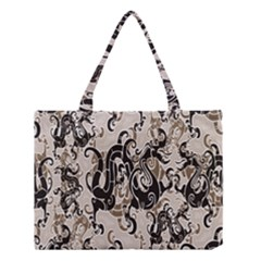 Dragon Pattern Background Medium Tote Bag