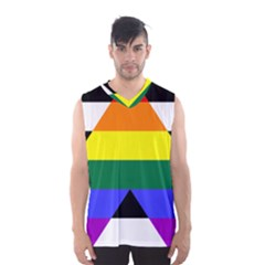 Ally Men s Basketball Tank Top by TailWags