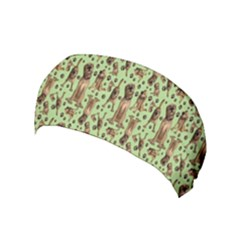 Puppy Dog Pattern Yoga Headband