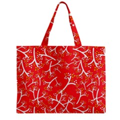 Small Flowers Pattern Floral Seamless Pattern Vector Zipper Mini Tote Bag