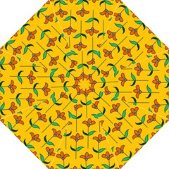 Small Flowers Pattern Floral Seamless Pattern Vector Folding Umbrellas by BangZart