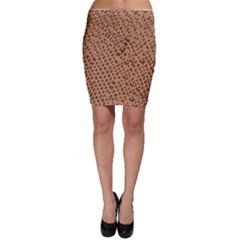 Giraffe Pattern Animal Print Bodycon Skirt by paulaoliveiradesign