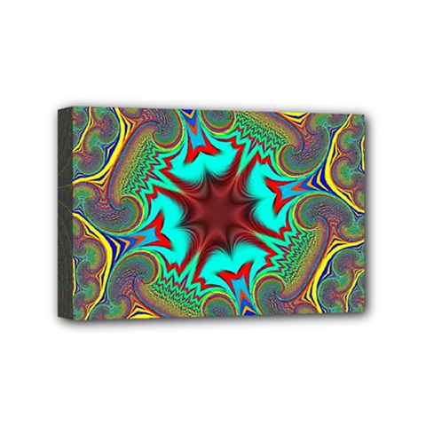 Hot Hot Summer A Mini Canvas 6  X 4  by MoreColorsinLife