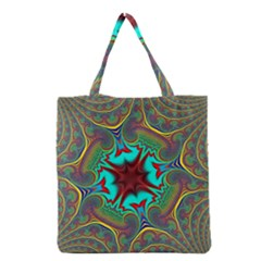 Hot Hot Summer A Grocery Tote Bag by MoreColorsinLife