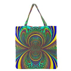 Hot Hot Summer B Grocery Tote Bag by MoreColorsinLife