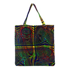 Hot Hot Summer D Grocery Tote Bag by MoreColorsinLife
