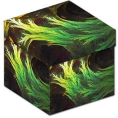 A Seaweed s Deepdream Of Faded Fractal Fall Colors Storage Stool 12   by beautifulfractals