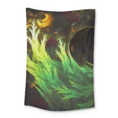 A Seaweed s Deepdream Of Faded Fractal Fall Colors Small Tapestry by jayaprime