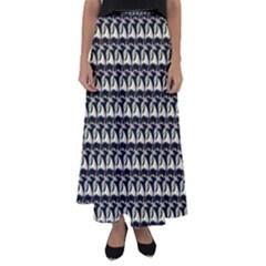 Colorful Pop Art Monkey Pattern Flared Maxi Skirt by paulaoliveiradesign