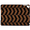 CHEVRON2 BLACK MARBLE & BROWN WOOD Apple iPad Pro 9.7   Hardshell Case View1