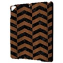 CHEVRON2 BLACK MARBLE & BROWN WOOD Apple iPad Pro 9.7   Hardshell Case View3
