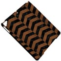 CHEVRON2 BLACK MARBLE & BROWN WOOD Apple iPad Pro 9.7   Hardshell Case View4