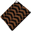 CHEVRON2 BLACK MARBLE & BROWN WOOD Apple iPad Pro 9.7   Hardshell Case View5