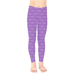 Purple Scales Kids  Legging by Brini