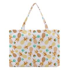 Seamless Summer Fruits Pattern Medium Tote Bag by TastefulDesigns