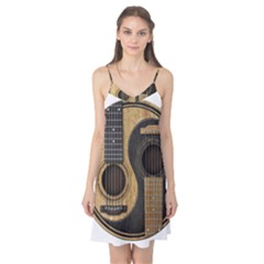Old And Worn Acoustic Guitars Yin Yang Camis Nightgown by JeffBartels