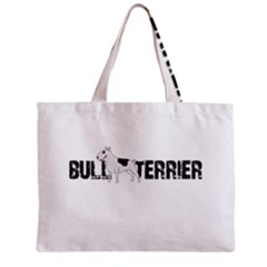 Bull Terrier  Zipper Mini Tote Bag by Valentinaart