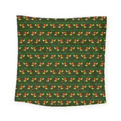 Plants And Flowers Square Tapestry (small) by linceazul