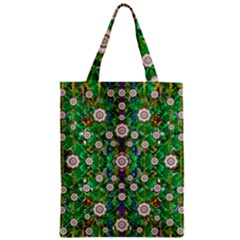 Pearl Flowers In The Glowing Forest Classic Tote Bag by pepitasart