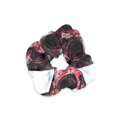 Uk Flag Skull Velvet Scrunchie by Valentinaart