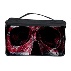 Uk Flag Skull Cosmetic Storage Case by Valentinaart