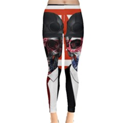 Dualism Leggings  by Valentinaart