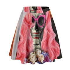 Bride From Hell High Waist Skirt by Valentinaart