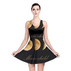 Moon Child Reversible Skater Dress by Valentinaart