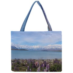 Lake Tekapo New Zealand Landscape Photography Mini Tote Bag by paulaoliveiradesign