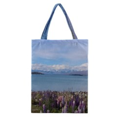 Lake Tekapo New Zealand Landscape Photography Classic Tote Bag by paulaoliveiradesign