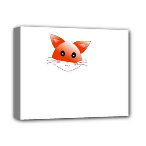 Animal Image Fox Deluxe Canvas 14  X 11  by BangZart
