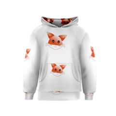 Animal Image Fox Kids  Pullover Hoodie