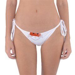 Animal Image Fox Reversible Bikini Bottom