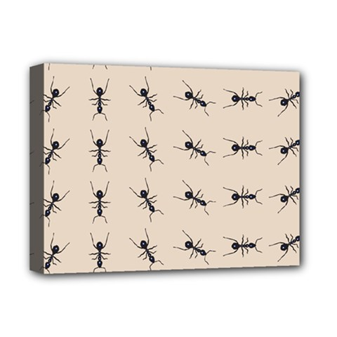 Ants Pattern Deluxe Canvas 16  X 12