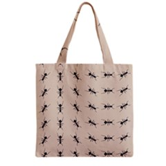 Ants Pattern Grocery Tote Bag by BangZart