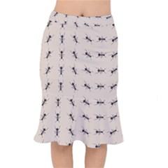 Ants Pattern Mermaid Skirt by BangZart