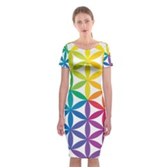 Heart Energy Medicine Classic Short Sleeve Midi Dress