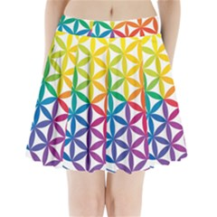 Heart Energy Medicine Pleated Mini Skirt