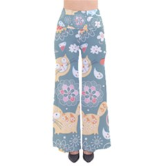 Cute Cat Background Pattern Pants