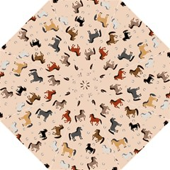 Horses For Courses Pattern Golf Umbrellas by BangZart