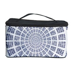 Illustration Binary Null One Figure Abstract Cosmetic Storage Case by BangZart