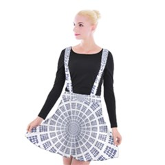 Illustration Binary Null One Figure Abstract Suspender Skater Skirt