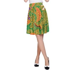 Art Batik The Traditional Fabric A Line Skirt