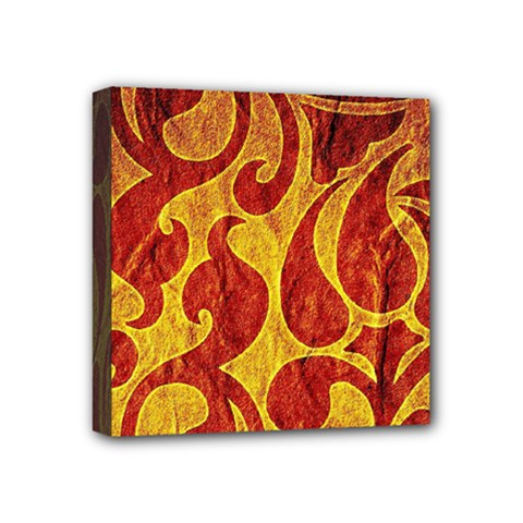 Abstract Pattern Mini Canvas 4  X 4  by BangZart