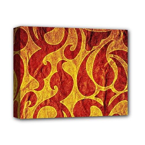 Abstract Pattern Deluxe Canvas 14  X 11  by BangZart