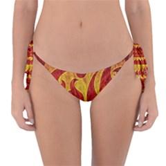Abstract Pattern Reversible Bikini Bottom