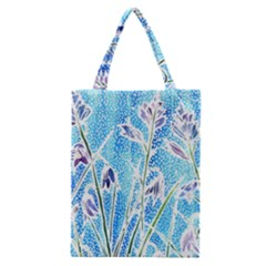 Art Batik Flowers Pattern Classic Tote Bag by BangZart