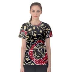 Art Batik Pattern Women s Sport Mesh Tee
