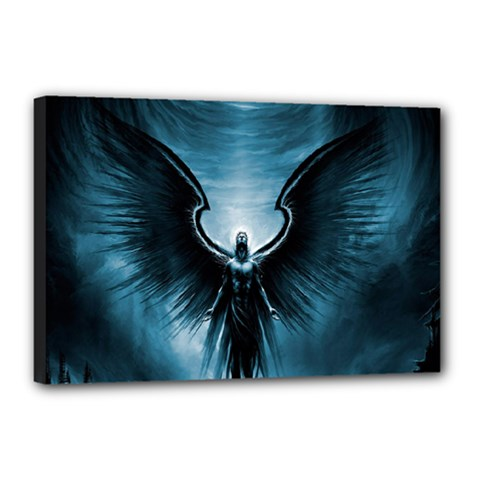 Rising Angel Fantasy Canvas 18  X 12